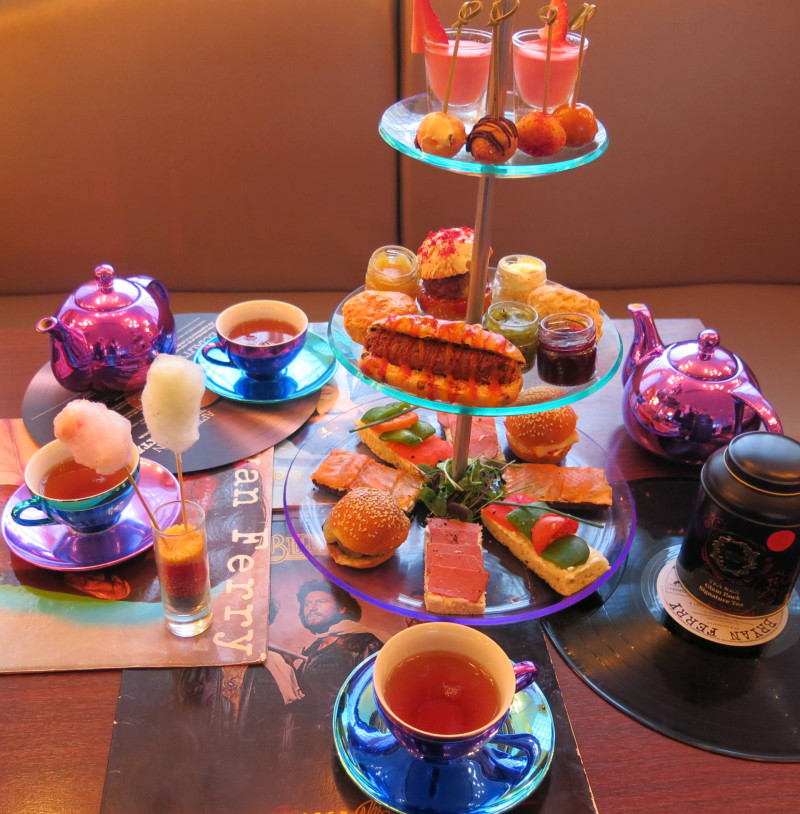 Glam Rock Afternoon Tea