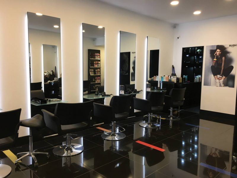 salon and hair stylist cooperation