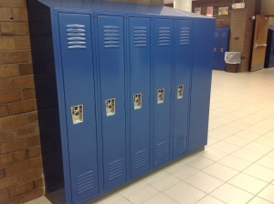 "New 12"" Wide x 15"" Deep lockers are now able to fit coats & backpacks"