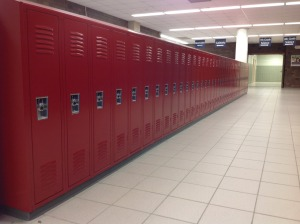 New colors brighten up the hallway