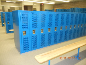 New Heavy Duty Ventilated Lockers & Benches by Republic Storage Systems
