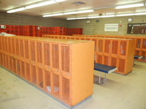 Old Worn Out Lockers