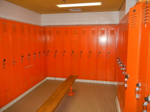 MCTC Minneapolis - Worn Out Lockers and not ADA Compliant