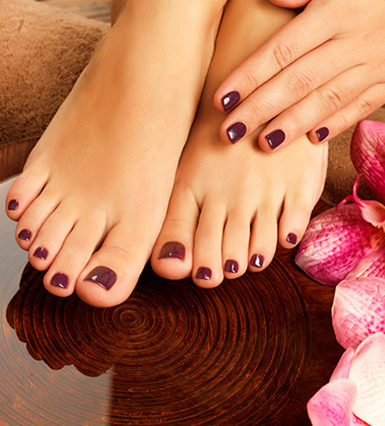 The Knot Salon Pedicure