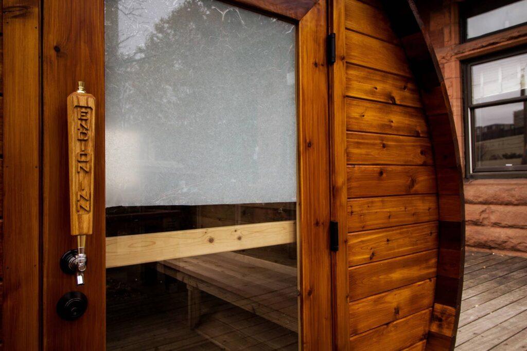 Outdoor Dry Sauna