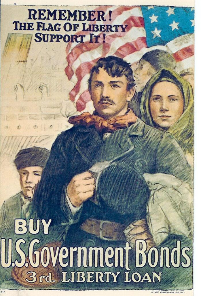 usa bonds remember the flag of liberty