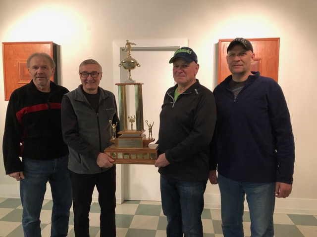 2019 Men's Bonspiel Winners