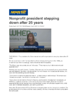09-28-2017 News 12 Bronx_Nonprofit president stepping down after 25 years