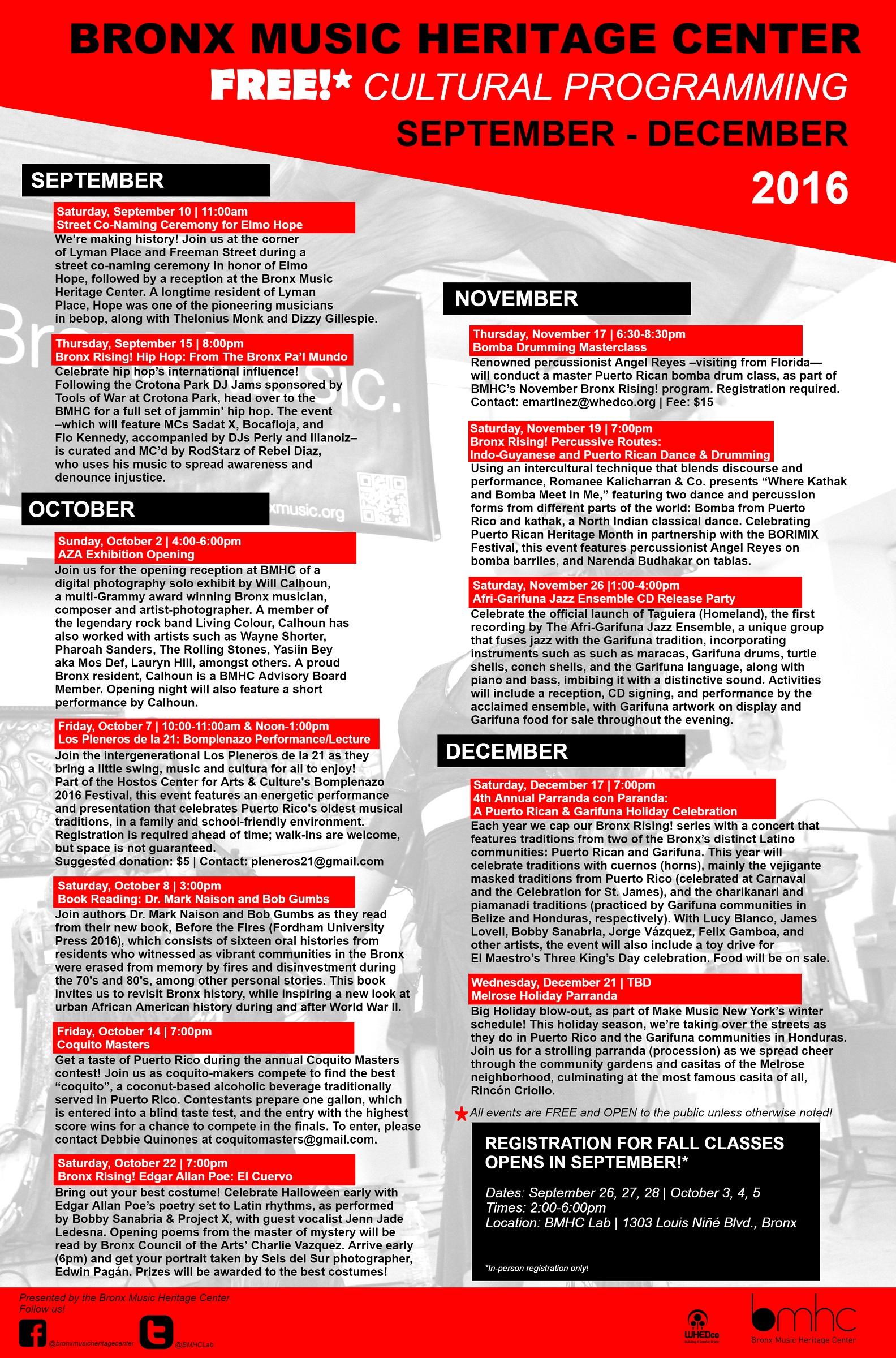 BMHC Fall Calendar_cultural programming_web