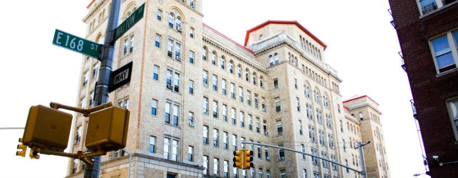 Urban Horizons Building, formerly Morrisania Hospital