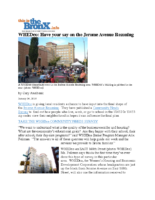 01-24-2018 Thisisthebronx_WHEDco Have your say on the Jerome Avenue Rezoning