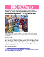 10-01-2018 BronxTimes_Women Telling Stories Through Movement