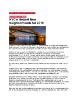 01-09-2019 Jewish Voice_Hottest Neighborhoods in NYC
