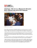 02-04-2019 CityLimits_Op-Ed SexEd in NYC High Schools