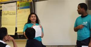 Natalia Baez teaching JAM