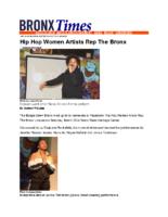 04-06-2019 BronxTimes_Hip Hop Women Artists Rep The Bronx