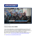 03-29-2019 BronxNet_Womens History Month at the BMHC