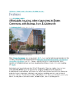 04-15-2019 CityRealty_Affordable housing lottery launches in Bronx Commons