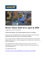 09-16-2019 News12Bronx_Bronx Music Hall set to open in 2020