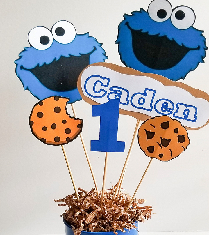 Easy DIY Cookie Monster Party