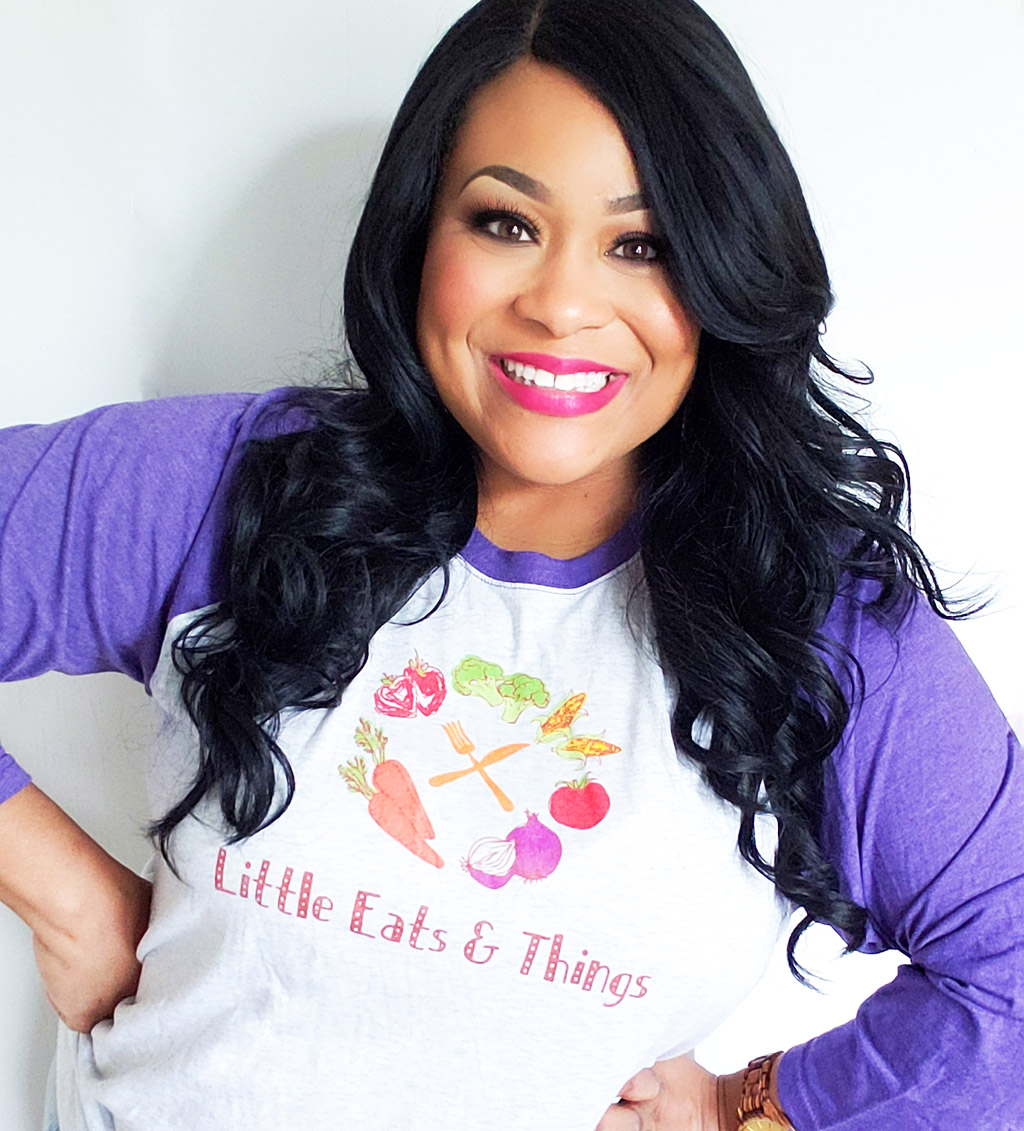 African American Registered Dietitian Nutritionist and Owner of Little Eats & Things littleeatsandthings.com
