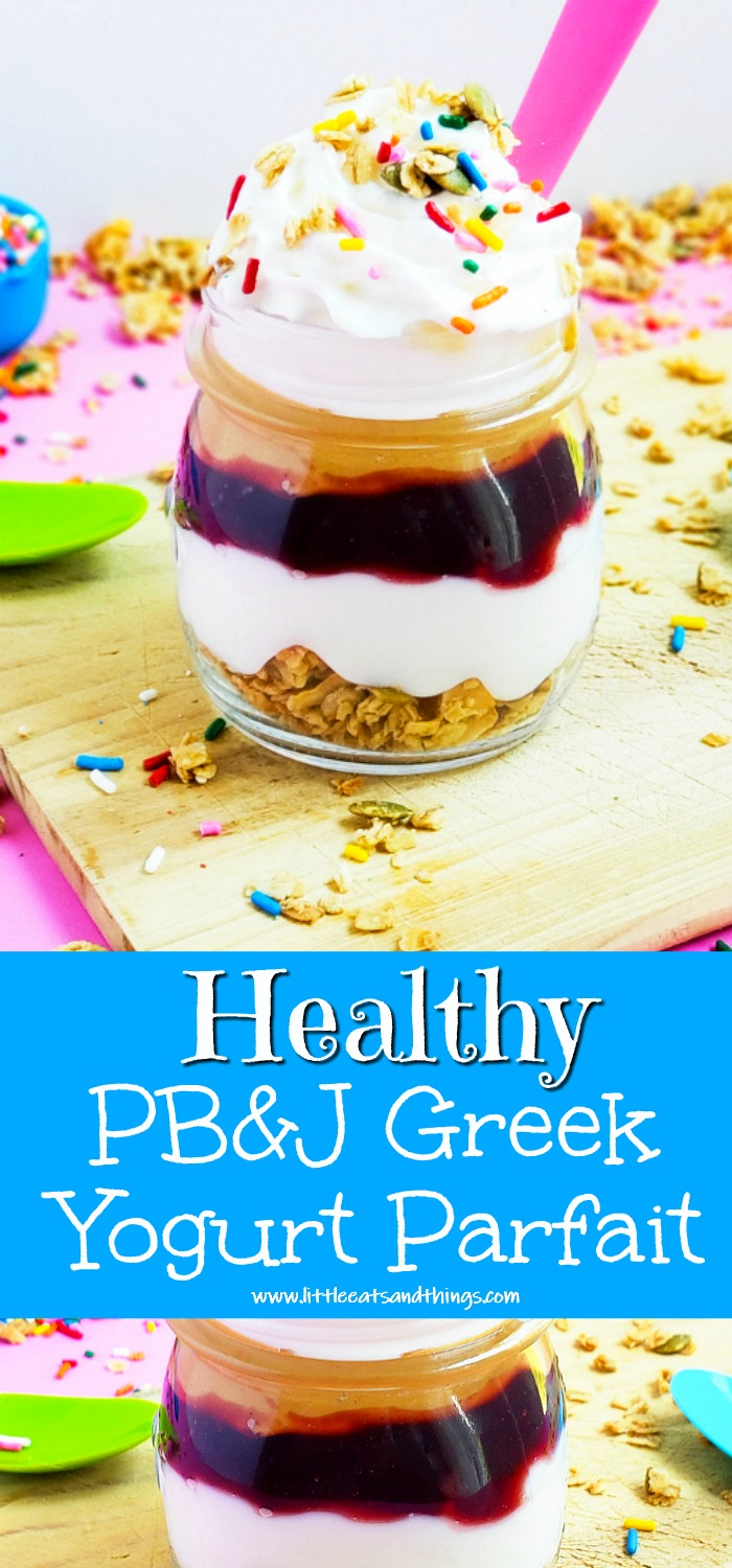 PB&J Greek Yogurt Parfait