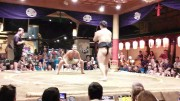Try Sumo Wrestling at Hananomai Restaurant Ryogoku