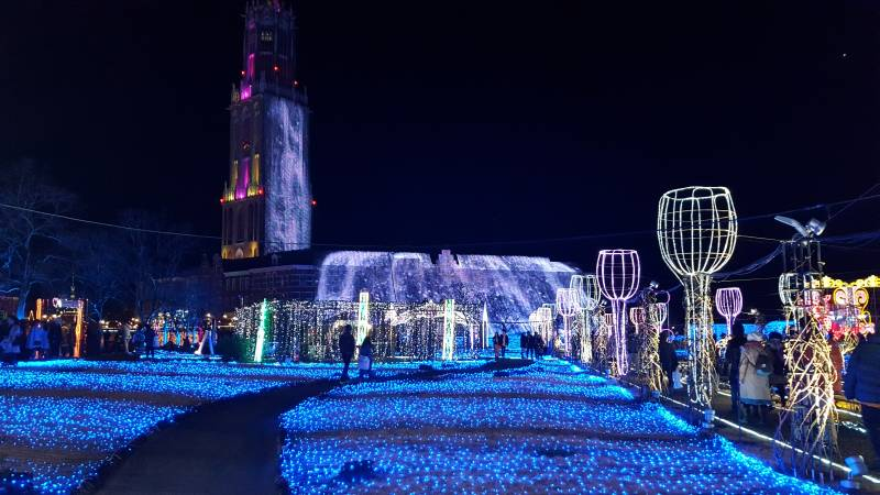 Huis Ten Bosch Light Show