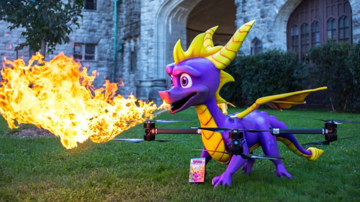 Beloved Character Spyro Gets Turned into a Drone!