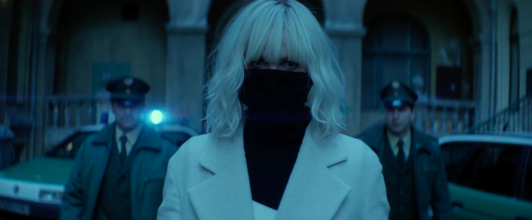 Charlize Theron is the Atomic Blonde