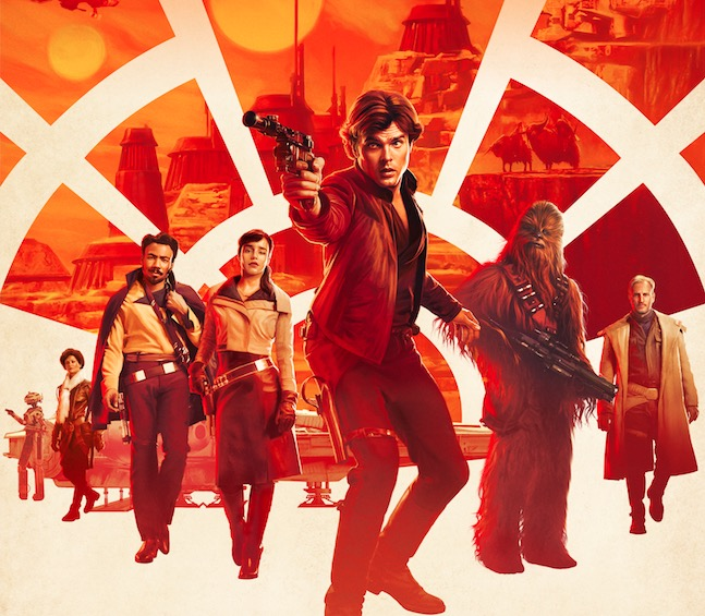 Check out a brand new trailer and poster for Solo: A Star Wars Story