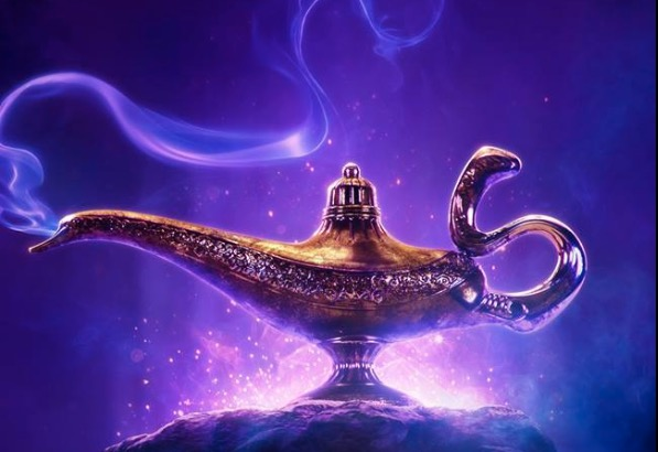 Check out the poster for Disney's live-action Aladdin film!