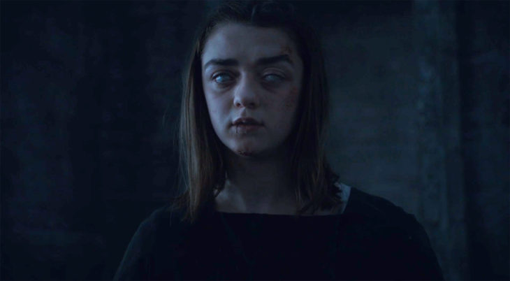 Arya is Training Blind
