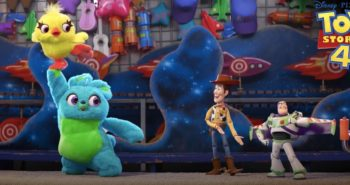 Meet Ducky and Bunny from Toy Story 4