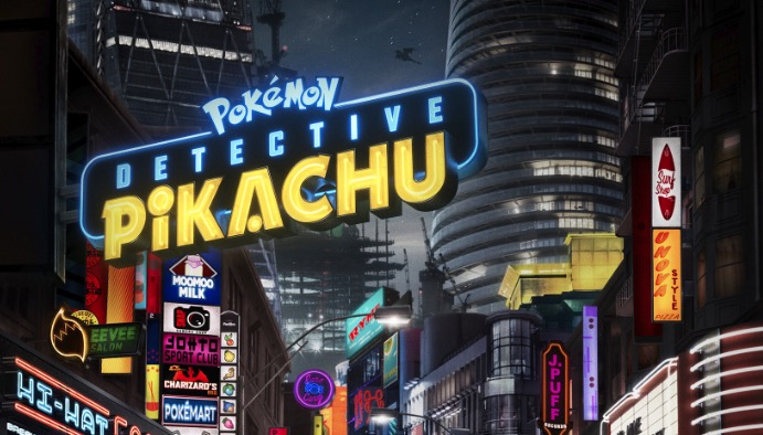 Check out the new trailer and poster for POKÉMON Detective Pikachu