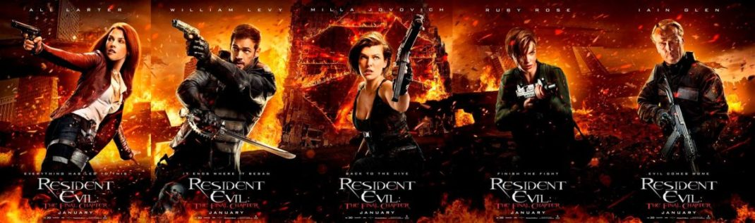 Resident Evil: The Final Chapter Character Posters Released