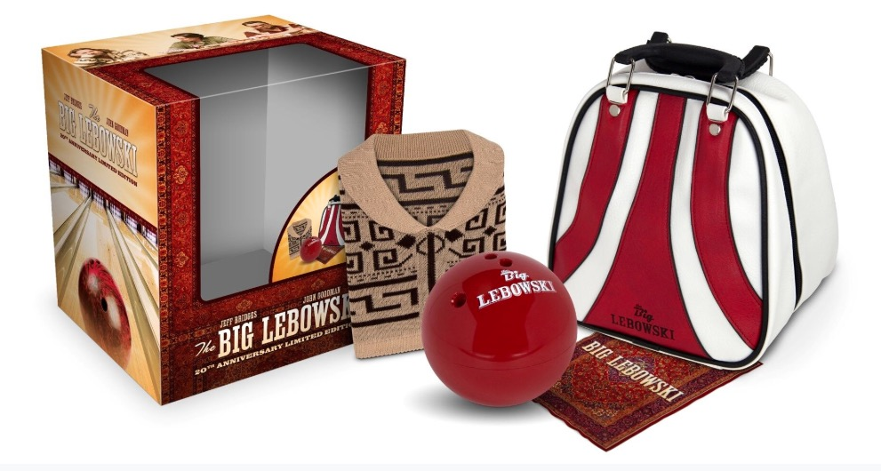 Looking for the perfect gift for the Dude in your life? Here's The Big Lebowski 20th Anniversary Limited Edition 4K Gift Set