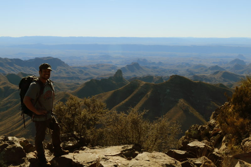 Big Bend National Park - View from the South Rim in the Chisos Mountains