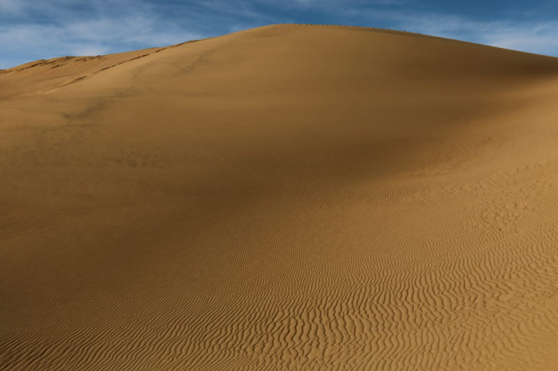 Great Sand Dunes National Park - Ripples in the sand and various shades of reds and tans can be found in the dunefields