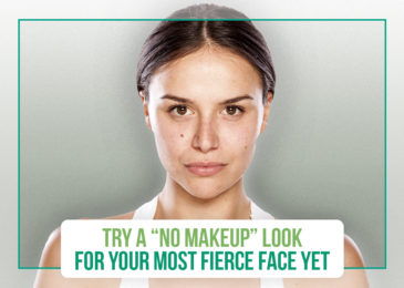 """Try a """"No Makeup"""" Look for Your Most Fierce Face Yet"""