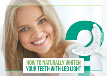 How to Naturally Whiten Your Teeth with Blue LED Light