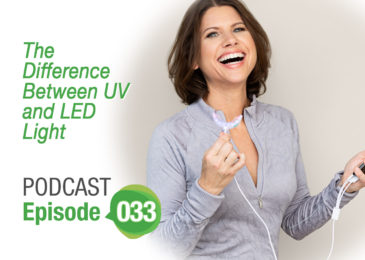 Trina Felber The Difference Between UV and LED light | The Healthy Me Podcast Episode 033