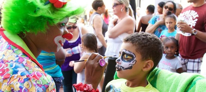 Face painters and clowns for parties cleveland ohio
