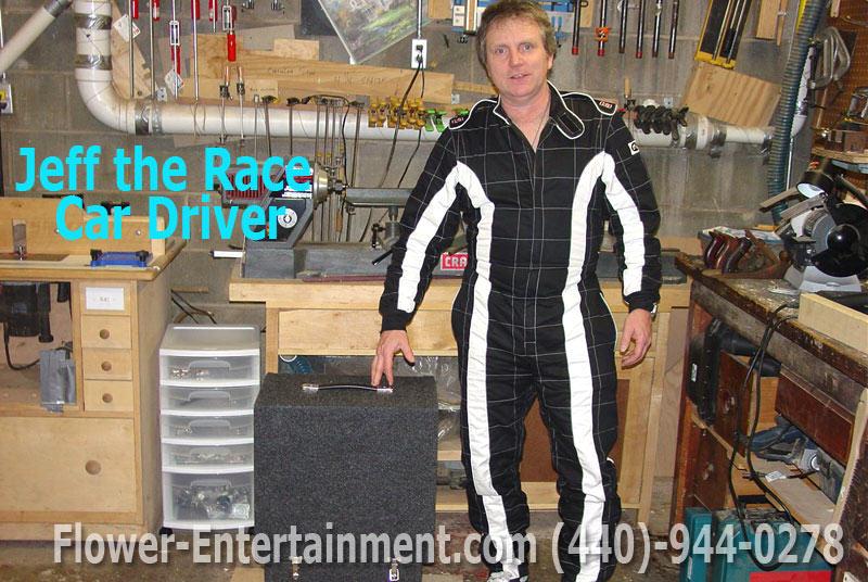 Super Hero & Costume Characters Rental Racecar Driver