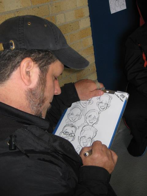 Caricature Artists for Rent Cleveland Ohio