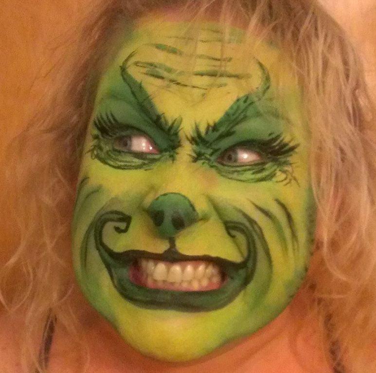 Nikki the face painter sample 3