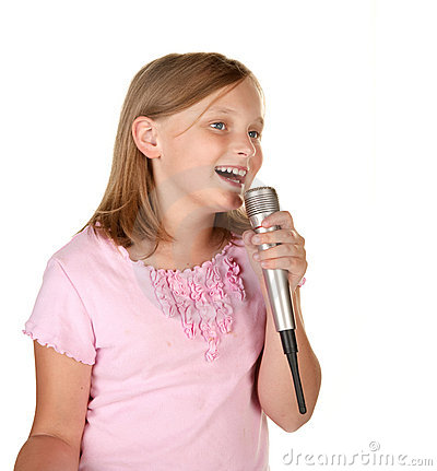 young-girl-singing-karaoke-white-13166413