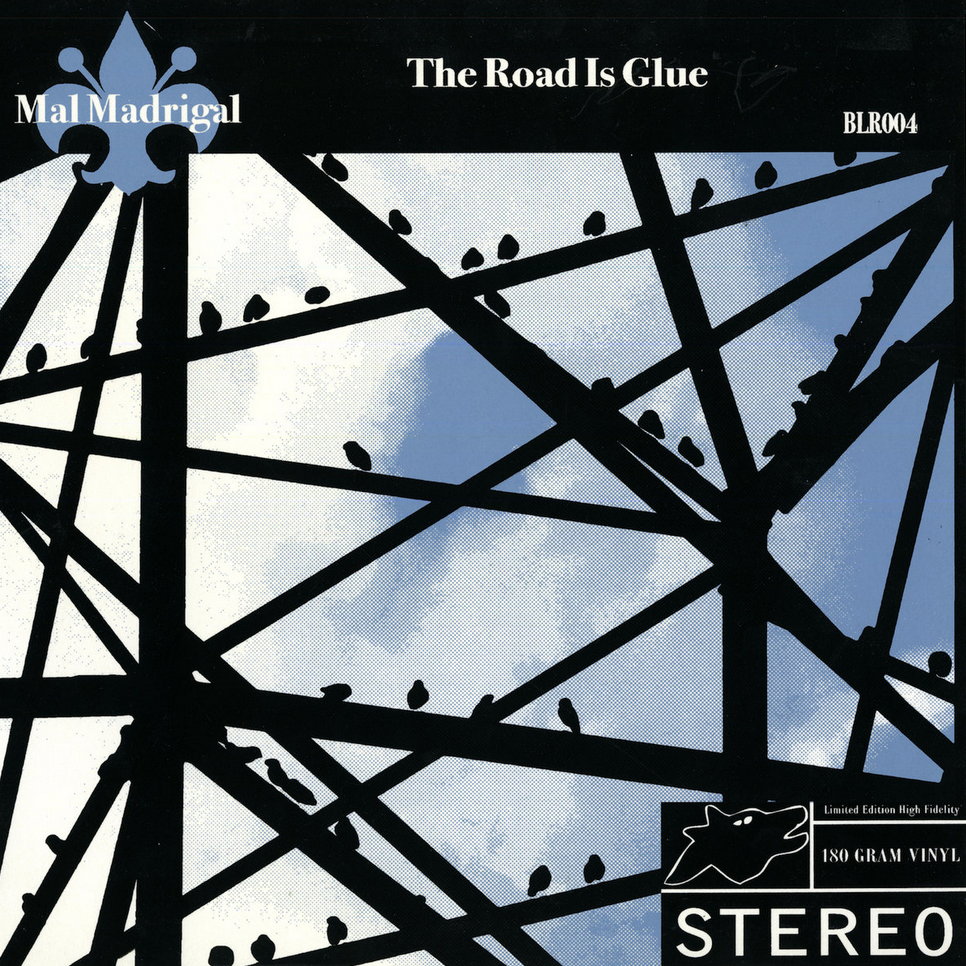 <b><u>Mal Madrigal -<br>The Road Is Glue</b></u><br><i>(2007, Bocca Lupo)</i><br><small>vibraphone, drums</small>
