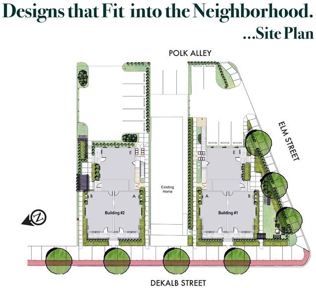 Arbor Heights siteplan