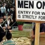 Any orthodox religion practices women discrimination